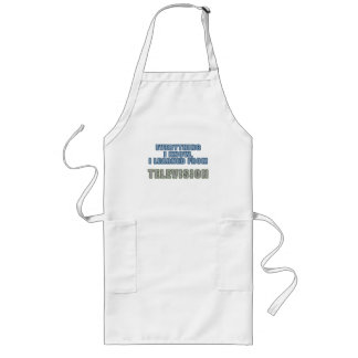 Learned from Television Long Apron