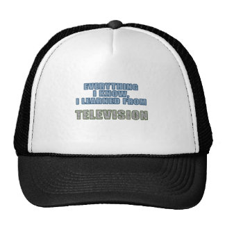 Learned from Television Trucker Hat