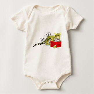 Learned Leopard collection Baby Bodysuit