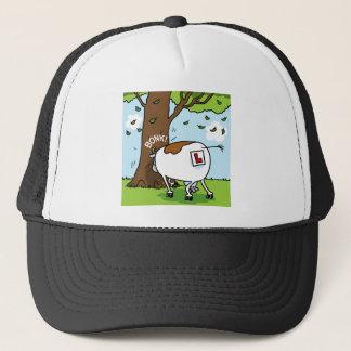 Learner Cow Trucker Hat