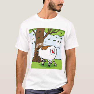 Learner Cow with Concussion T-Shirt