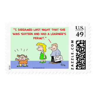 learner's permit postage