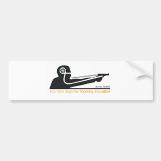 LearnHowToShootGuns clothing gear and products Bumper Stickers