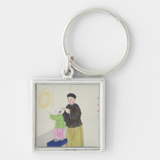 Learning about Spiritualism Keychain