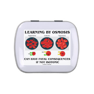 Learning By Osmosis Can Have Fatal Consequences Candy Tin
