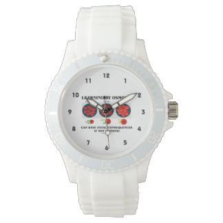 Learning By Osmosis Fatal Consequences (Biology) Wrist Watch