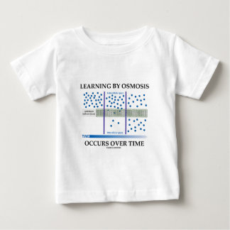 Learning By Osmosis Occurs Over Time Baby T-Shirt