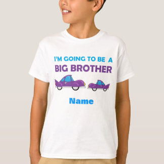 Learning Candy Big Brother Car Personalized T-Shirt