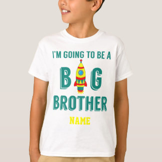 Learning Candy Big Brother Cute Rocket T-Shirt