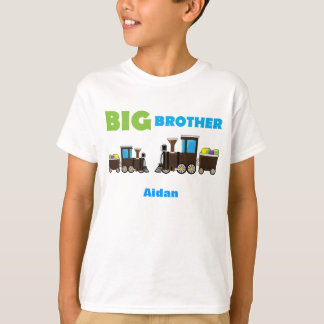 Learning Candy Big Brother Train Personalized BOYS T-Shirt