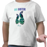Learning Candy Big Sister Peacock Personalized Tshirts