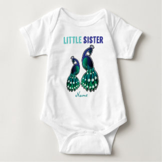 Learning Candy Little Sister Peacock Personalized Shirt