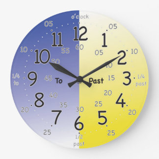 Learning Dail Wall Clock
