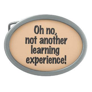 Learning Experience Belt Buckle
