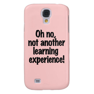 Learning Experience Samsung Galaxy S4 Cover