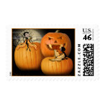 Learning Halloween Customs Stamp