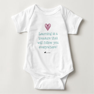 Learning is a Treasure Baby Body Baby Bodysuit