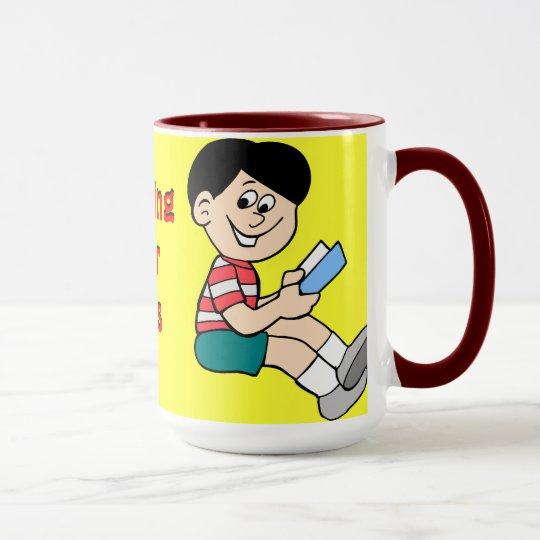 Learning is for nerds mug