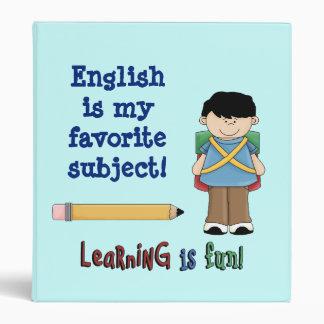 Learning is Fun!-Boy Binder