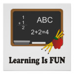 Learning is Fun Poster