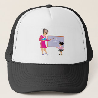Learning Math Trucker Hat