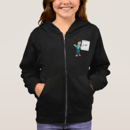 Learning Maths Girls Hoodie