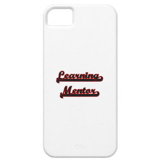 Learning Mentor Classic Job Design iPhone 5 Cases