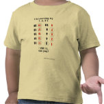 Learning My Numbers (Y.U. Little Genius) Shirts