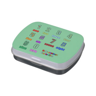 LEARNING NUMBERS FUNTIME CANDY TIN