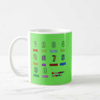 LEARNING NUMBERS FUNTIME COFFEE MUG