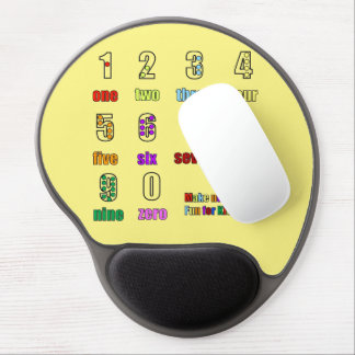 LEARNING NUMBERS FUNTIME GEL MOUSE PAD