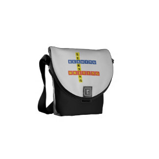 Learning Reading Writing Messenger Bags