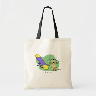 Learning the Teeter Agility Tote Bag