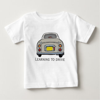 Learning to Drive Topaz Mist Figaro Car Baby T-Shirt