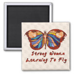 Learning To Fly 2 Inch Square Magnet