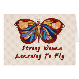 Learning To Fly Greeting Cards