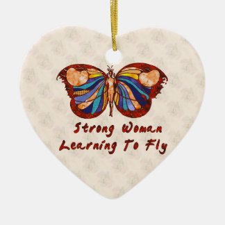 Learning To Fly Ceramic Ornament