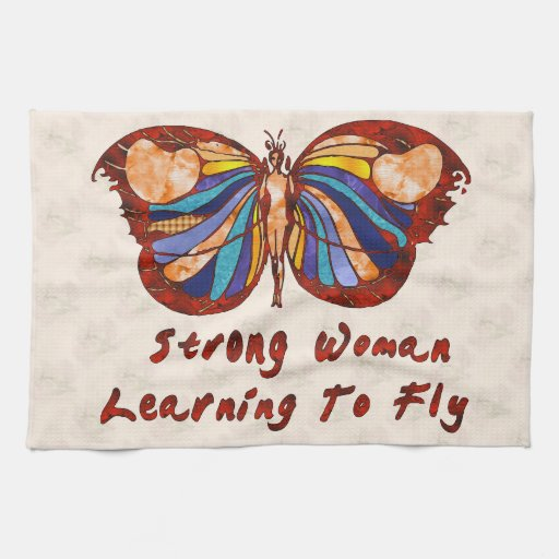 Learning To Fly Kitchen Towel