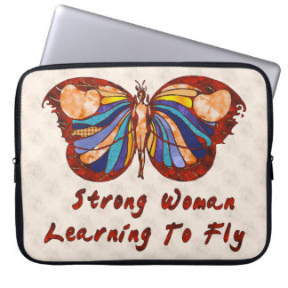 Learning To Fly Laptop Sleeve
