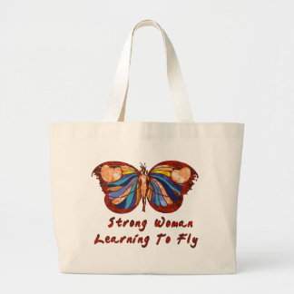 Learning To Fly Large Tote Bag