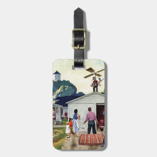 Learning to Fly Luggage Tag