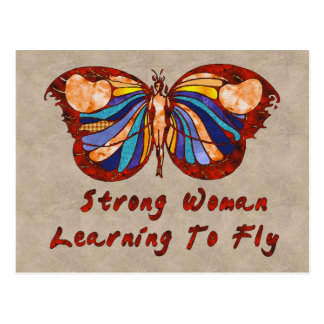 Learning To Fly Postcards