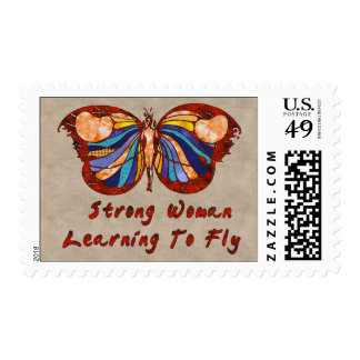 Learning To Fly Stamp