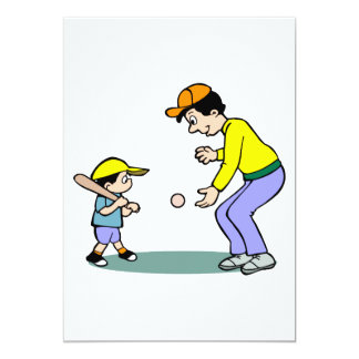 learning to hit the ball card