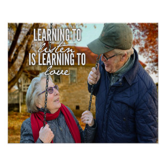 Learning To Listen Is Learning To Love Poster