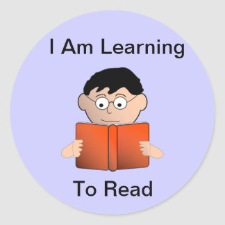Learning To Read Sticker