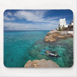 Learning To Scuba Dive, Cozumel Mexico Mouse Pad