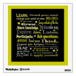 learning words collage room stickers