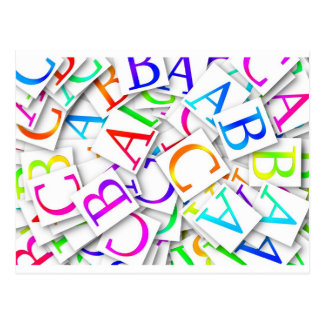 Learning Your ABCs Postcard