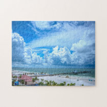 Learwater Beach Florida. Jigsaw Puzzle